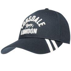 Καπέλο Lonsdale 2 Stripe Cap - Σκούρο μπλε