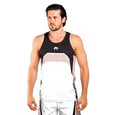 Αμάνικο Ανδρικό Μπλουζάκι Venum Fidji Dry Tech - White