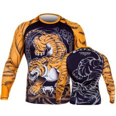 ΜΑΚΡΥΜΑΝΙΚΟ RASH GUARD VENUM TIGER - BLACK/ORANGE
