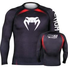 ΜΑΚΡΥΜΑΝΙΚΟ RASHGUARD VENUM NO-GI - BLACK/RED