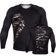 ΜΑΚΡΥΜΑΝΙΚΟ VENUM ORIGINAL GIANT RASH GUARD - BLACK/CAMO