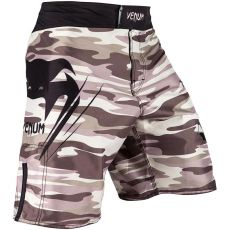 VENUM WAVE CAMO GRAPPLING SHORTS - BROWN