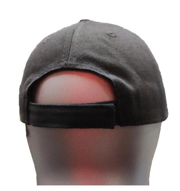 ΑΝΔΡΙΚΟ ΚΑΠΕΛΟ LONSDALE IKEN CAP - BLACK/GREY
