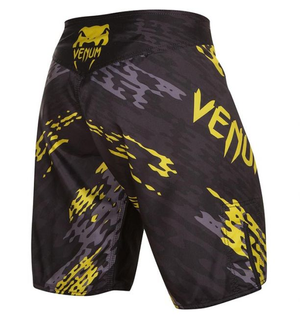 ΣΟΡΤΣΑΚΙΑ MMA VENUM NEO CAMO FIGHTSHORTS - BLACK/GREY/YELLOW