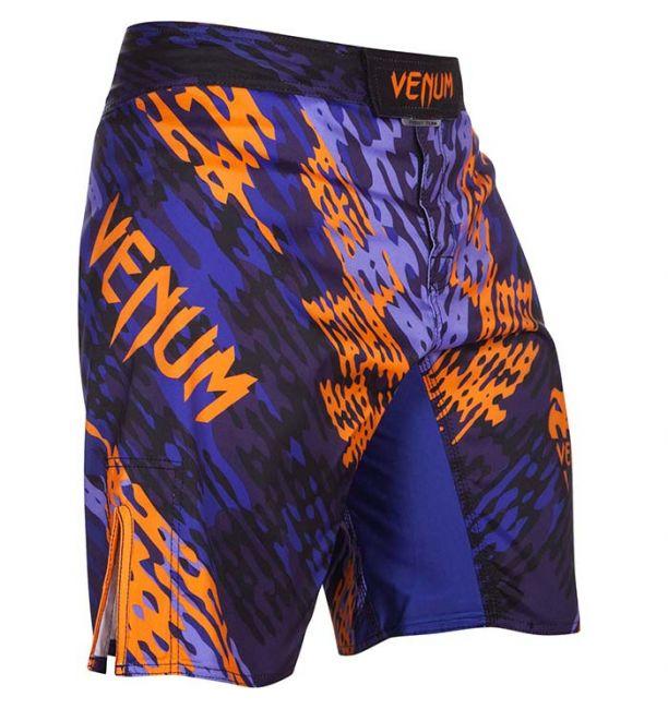 VENUM MMA NEO CAMO FIGHTSHORTS - BLUE/ORANGE