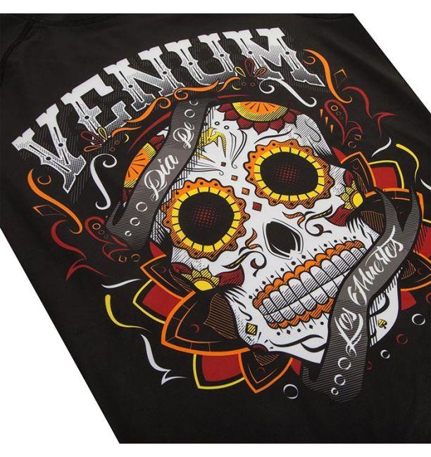 VENUM SANTA MUERTE 2.0 RASHGUARD LONG SLEEVES - BLACK