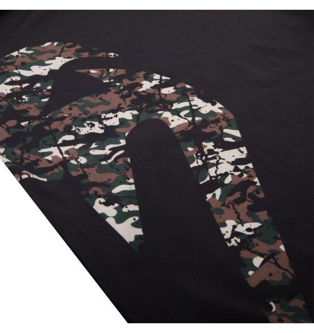 ΜΑΚΡΥΜΑΝΙΚΟ VENUM ORIGINAL GIANT RASH GUARD - BLACK/CAMO