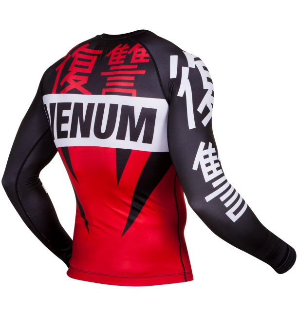 ΜΑΚΡΥΜΑΝΙΚΟ RASH GUARD VENUM REVENGE - RED