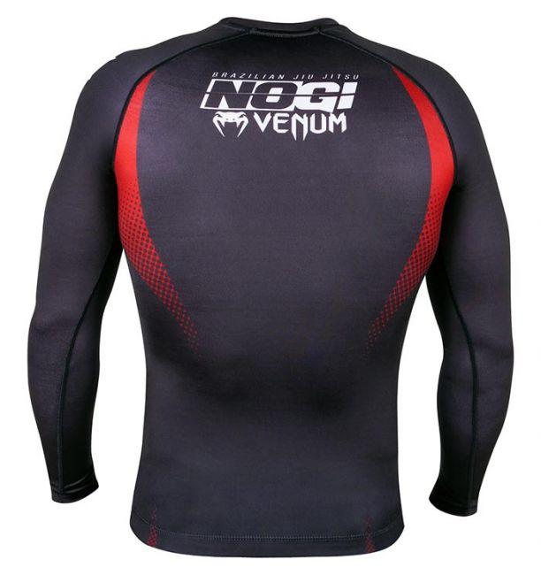 ΜΑΚΡΥΜΑΝΙΚΟ RASHGUARD VENUM NO-GI - BLACK/RED